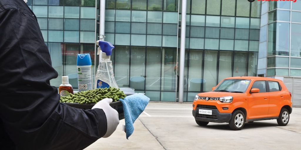 Learn how to keep your car's exterior sanitized